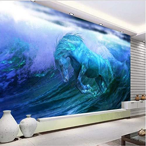 Benutzerdefinierte Große Fresko 3D-Tapete-250 * 175 Cm