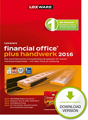 Lexware financial office plus handwerk 2016 [PC Download]