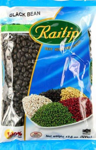 Raitip Paquete de Frijoles Negros de 1 x 500 Gr 500 g