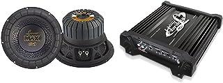 $105 » Lanzar 12in Car Subwoofer Speaker - Black Non-Pressed Paper Cone, 4 Ohm Impedance, 1000 Watt Power - MAX12 & Amplifier Car...