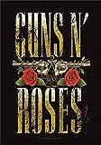 Heart Rock Flagge Original N' Roses Big Guns, Stoff,