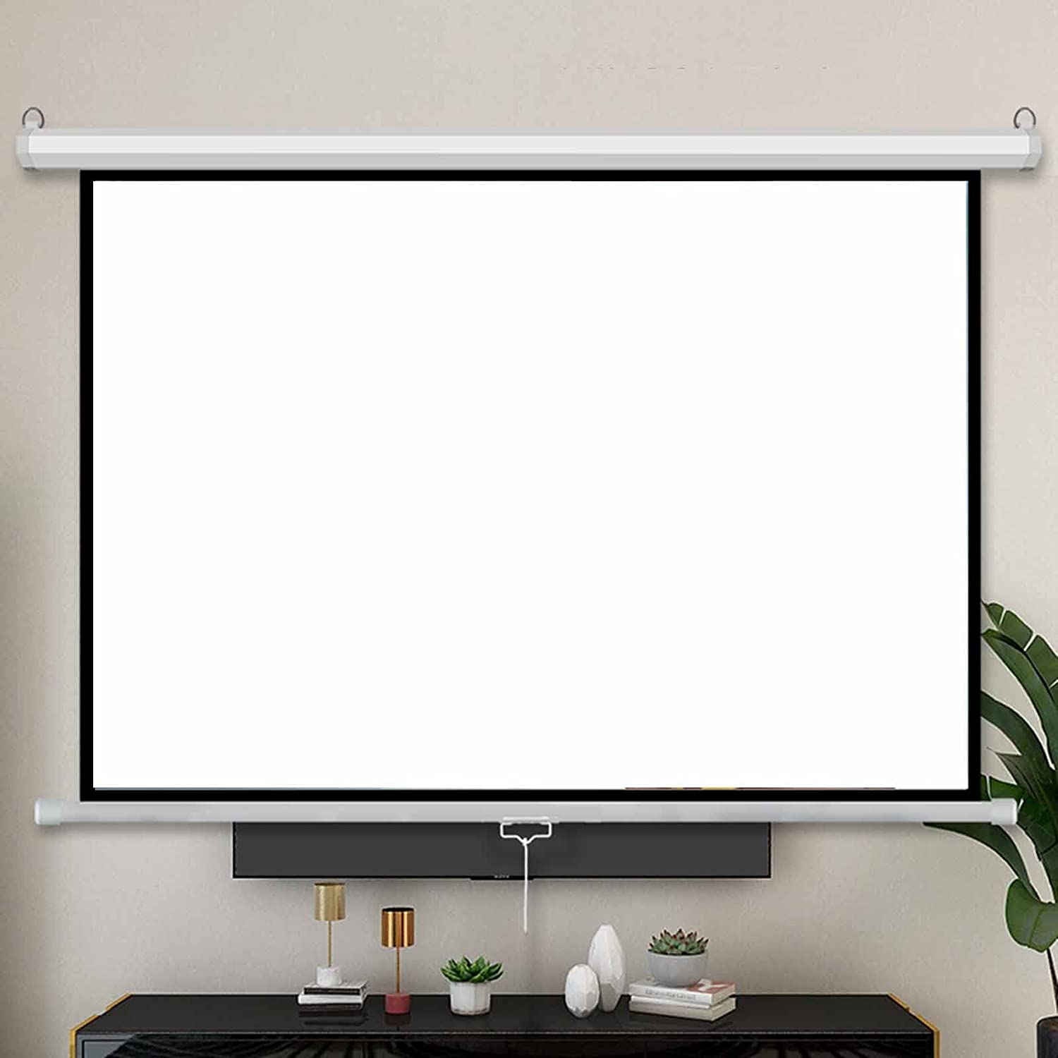 4K HD Motorized A surprise price is realized Projector Screen Video Scree Wrinkle New item Movie Free