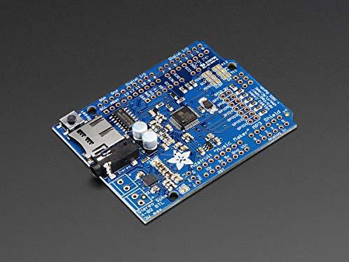 Adafruit 'Music Maker' MP3 Shield for Arduino w/3W Stereo Amp [ADA1788]