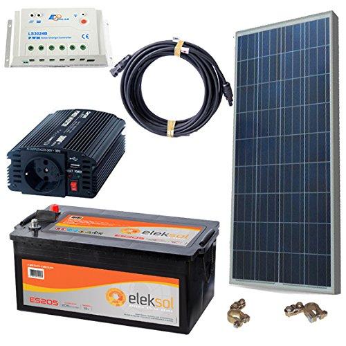 DSP Solar KIT SOLAR FOTOVOLTAICO AISLADO DE LA RED 500W CON PLACA ...