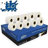 RINKLEE 99012 S0722400 Etiquetas Compatible para DYMO LabelWriter 4XL 450 400 330 320 310 Duo/Turbo/Twin Turbo SEIKO SLP 450 430 420 410 400 200 100   36 x 89 mm   10 Rollos