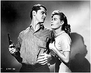 Jack Nicholson 8 x 10 Photo The Cry Baby Killer Black & White Striped Shirt Holding Gun w/Beautiful Girl kn