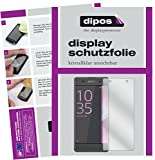 dipos I 6X Schutzfolie klar kompatibel mit Sony Xperia XA Folie Bildschirmschutzfolie