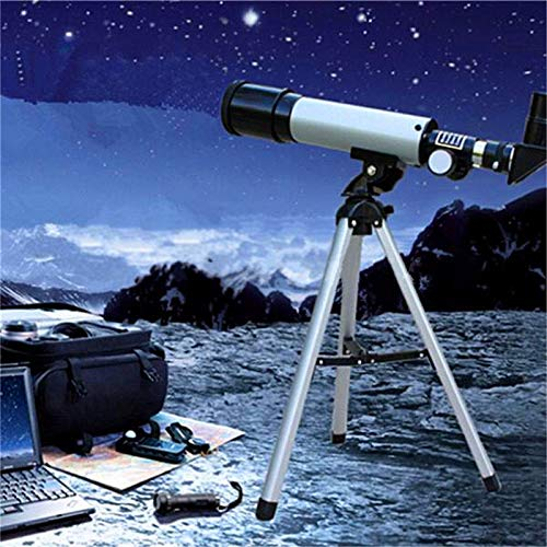 Fantastic Deal! JUNword F 360 X 50 Refractive Astronomical Telescope Monocular with Tripod Spotting ...