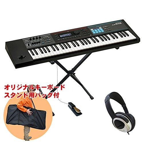 Roland ローランド シンセサイザー JUNO-DS61 (キーボードスタンド・ヘッドフォン付き)
