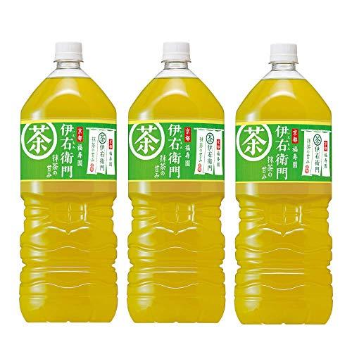 サントリー緑茶 伊右衛門 2L×3本