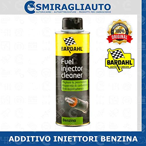 BARDAHL Fuel Injector Cleaner Additivi Pulitore Iniettore Benzina 300 ML