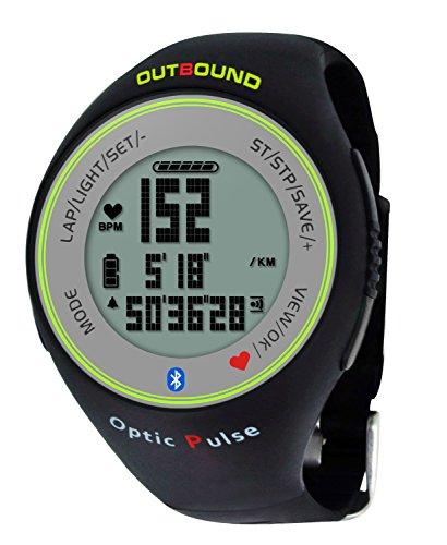 OutBound Bluetooth in Uscita Ottica Pulse Orologio attività Fitness Tracker con cardiofrequenzimetro