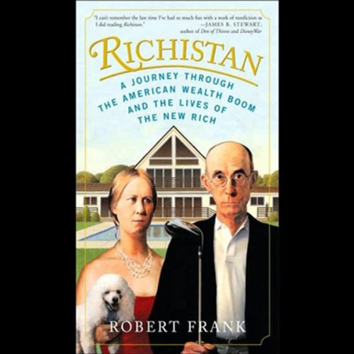Richistan audiobook cover art