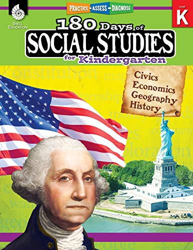 180 Days of Social Studies: Grade K - Daily Social Studies Workbook for Classroom and Home, Cool and