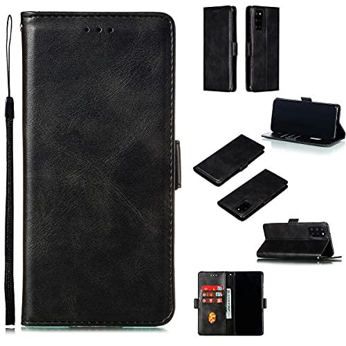 Coperchio della scatola flip del telefono Portafoglio del telefono Case Samsung Galaxy S20 Plus, Vintage Premium PU. Custodia con portafoglio in pelle con cavalletto da polso con cinturino da polso TP