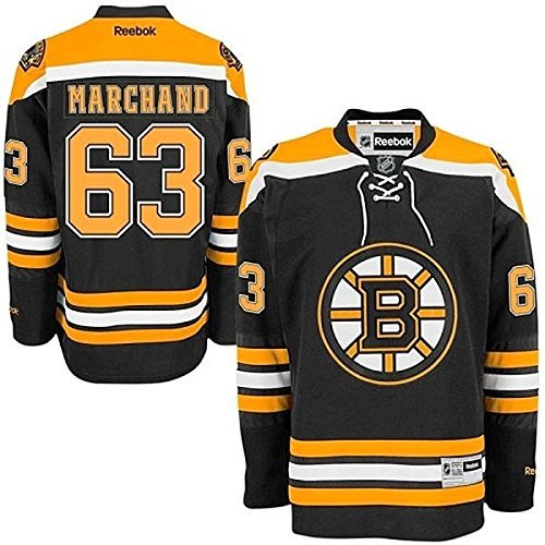 85df0ba7b19a Brad Marchand Boston Bruins  63 NHL Youth Premier Stitched Jersey Black  (Youth S