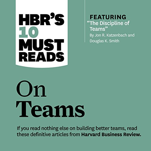 HBR's 10 Must Reads on Teams audiobook cover art