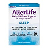 Allerlife Sleep Capsules, Daily Allergy Supplements and Sleep Aid, 20-Count