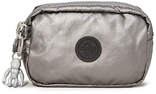 Kipling Gleam S Women's Purse, Black (Carbon Metallic), 14x9.5x5.5 Centimeters (B x H x T)