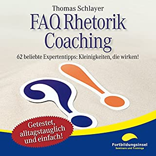 FAQ Rhetorik Coaching Titelbild