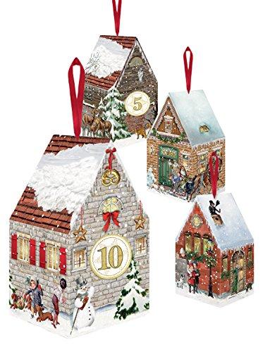 Coppenrath - Casette di Natale dell'Avvento: decorazioni da appendere