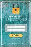 Quaderno delle password: Versione alfabetica | Password organizer | agenda per password alfabetica | Taccuino per indirizzi web, username e password | ... per ufficio | Organizer personali | 104 pag.