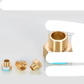 """FSALFWUYIHDSF Raccord de Tuyau en Laiton - Connecteur Femelle x Male réducteur 1/8"""", 1/4"""", 3/8"""", 1/2"""", 3/4"""" BSP Adaptateur..."""