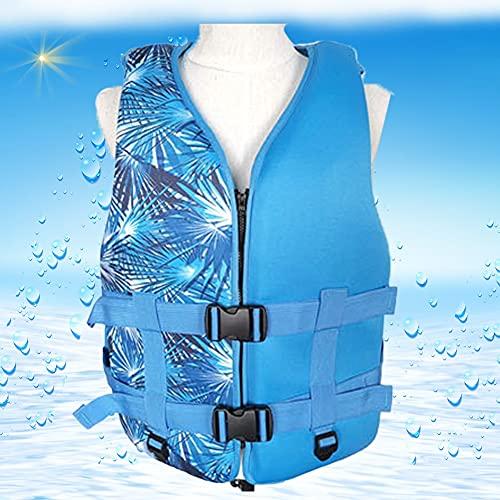 LIUXIN Portátil Chaleco de Ntación para Niños/Adultos, Chaquetas No Inflable Chalecos Salvavidas para Hombres/Mujeres, Chaleco de FlotabilidadUnisexo para Snorkeling, Remo