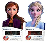 Disney Frozen 2 Anna and Elsa Themed Gummy Party Favor Candy, Easter Basket Stuffer, 6 Ounce, Pack...