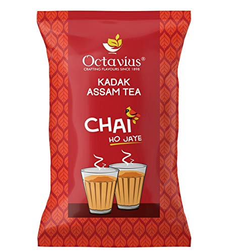 Octavius KADAK Assam CTC Chai | Strong Kadak Regular Black Tea - 1 Kg