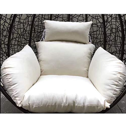 NACHEN Hollywood schommelbank zitkussen hangstoel kussen zonder houder tuin hangmat zitkussen spiegel nestje met kussen kleur 1