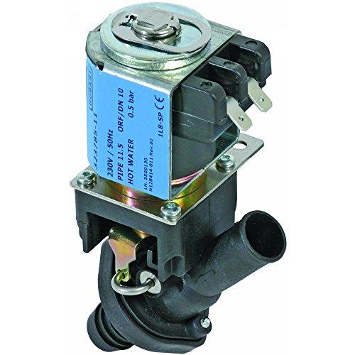 Hobart Magnetventil für Spülmaschine FX, GX, HX-ES, HX-S, HX-40ES, HX-30ES 230V 1-fach Eingang ø 17mm Ausgang ø 17mm DN 11,5