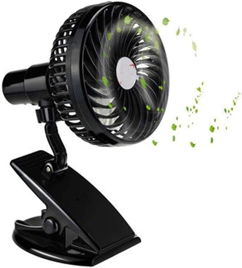 Mini Mute Las Vegas Mall Clip Fan Rechargeable Silent Stroller Baby 25% OFF 4 Blades Fa