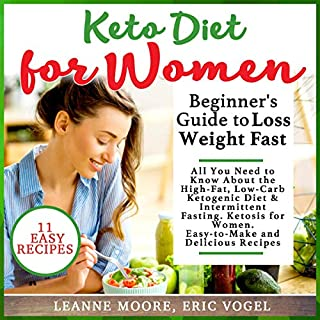 Keto Diet for Women audiobook cover art