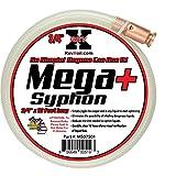 REV X Mega Syphon - 3/4' x 10 Foot Long Self Priming Safe Siphon Hose for Water, Gas, Fuel, Diesel
