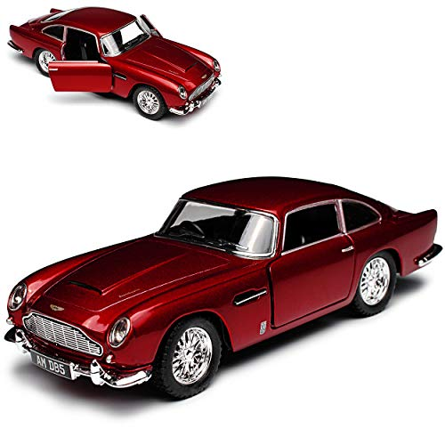 Kinsmart, Aston Martin DB5 Coupé, James Bond 007 Goldfinger 1963-1965, ca 1/43 1/38, modello auto