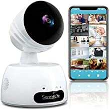 Best SereneLife Indoor Wireless IP Camera-HD 720p Network Security Surveillance Home Monitoring w/ Motion Detection, Night Vision,PTZ,2 Way Audio, iPhone Android Mobile App-PC WiFi Access- IPCAMHD30,White Review