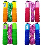 M-jump Colorful Adjustable Soft Skipping Rope
