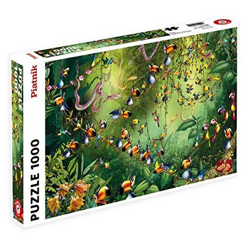 Piatnik 5491Toucan in The Jungle 1000Piece Jigsaw Puzzle