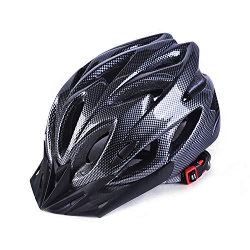 Universele fietshelm, verstelbare lichte skating racefietshelm zwart
