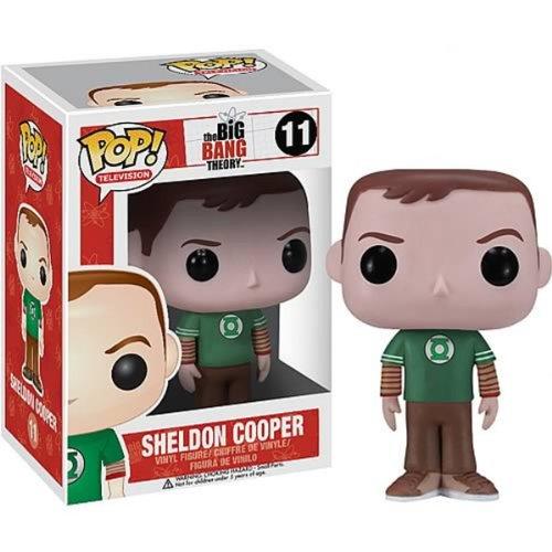 Big Bang Theory Funko - Figurine Sheldon Green Lantern Pop 10cm - 0830395028118