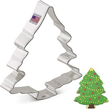 "Ann Clark Cookie Cutters Christmas Tree Cookie Cutter, 5.25"""