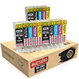 Matsuro Original   Compatible Cartuchos de Tinta Reemplazo para Canon PGI-520 CLI-521 520 521 (3...
