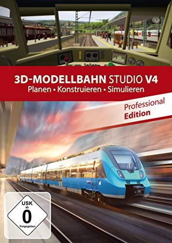 3D Modellbahn Studio V4 PRO - Eisenbahn Simulator für Windows 10, 8.1, 8, 7