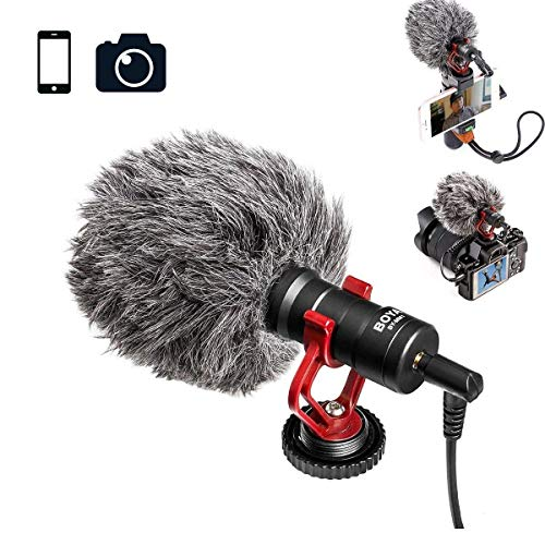 microfono ambiental para camara fabricante BOYA