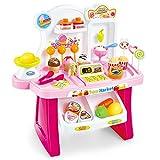 Puppenhaus Startseite Supermarkt Einkaufen Set Mädchen Jungen Marktstand Spielzeug Einkaufen Umsatz...