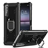 IMBZBK Compatible with Sony Xperia 1 II Case, [360 Degree
