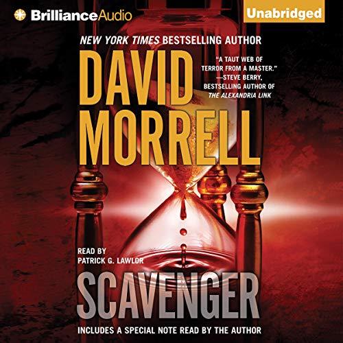 Scavenger audiobook cover art