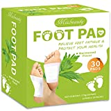 Mixbeauty Foot Pads, Cleansing Foot Pad for Foot Care, Sleep Improvement, Pain Relief, Fatigue and Stress Relief, Energy Booster, Odor Eliminator (2 in 1)