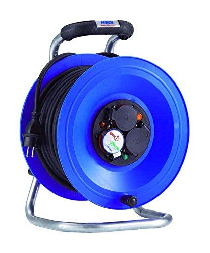 HEDI K2Y40NTF Kabeltrommel, 250 V, blau, schwarz